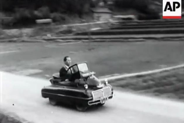 【ビデオ】AP通信のアーカイブから、自動車に関する貴重映像を選んでみた