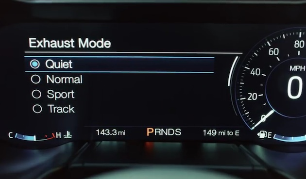 【ビデオ】新型フォード「マスタング GT」、深夜や早朝は自動的に爆音を控える「静音モード」を搭載