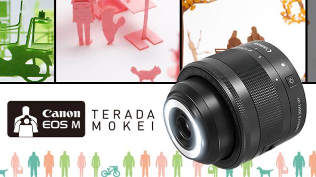 佳能的 EOS M 新微距镜「内建」环形 LED,左右可分别补光