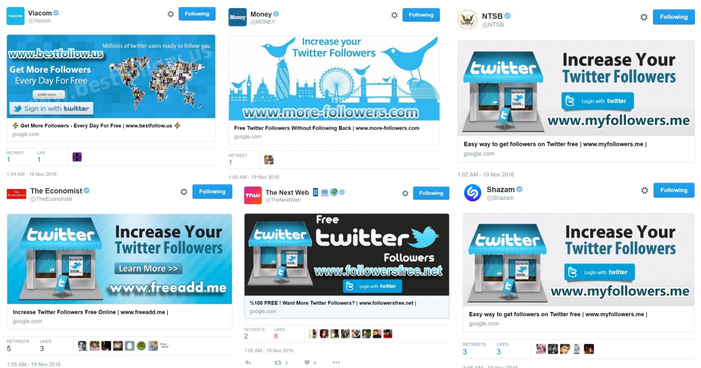 Spammers compromised Twitter accounts for @PlayStation and