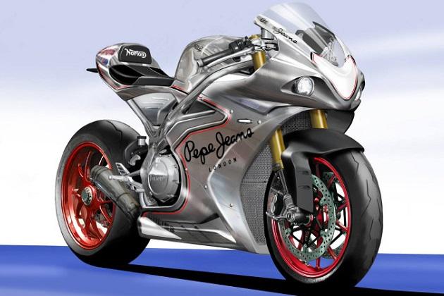 ノートン、1,200ccV4エンジンを搭載した新型スーパーバイクの製造を発表!