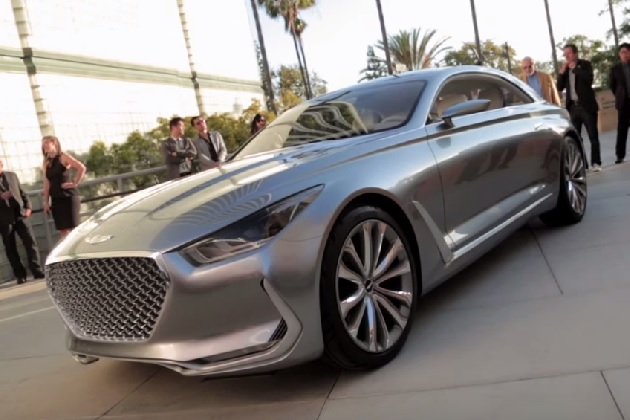 ヒュンダイ、将来的な高級車の方向性を示す「ヴィジョンG クーペ コンセプト」を公開!