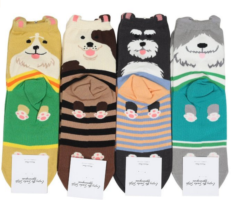 GGorangNae Women's Cool Animal Fun Crazy Socks