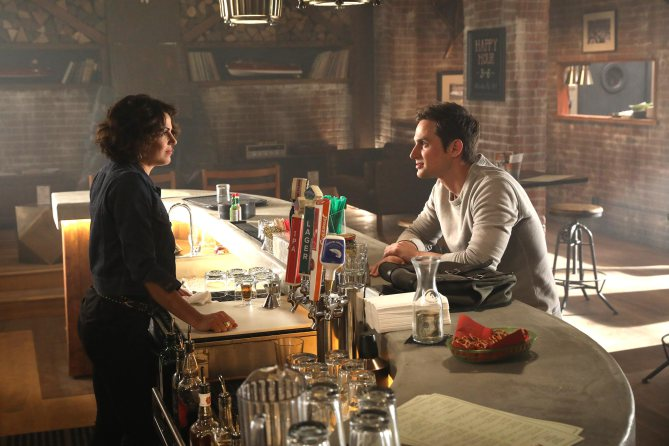 "ONCE UPON A TIME - ""Hyperion Heights"" (ABC/Jack Rowand) LANA PARRILLA, ANDREW J. WEST"