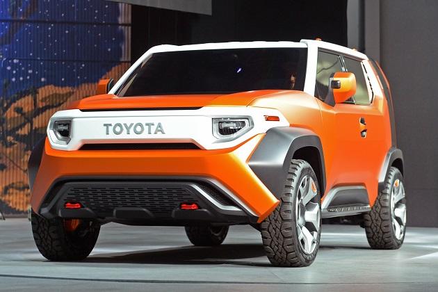 トヨタが発売を計画している新しい小型クロスオーバーの名前は「TJクルーザー」に!?
