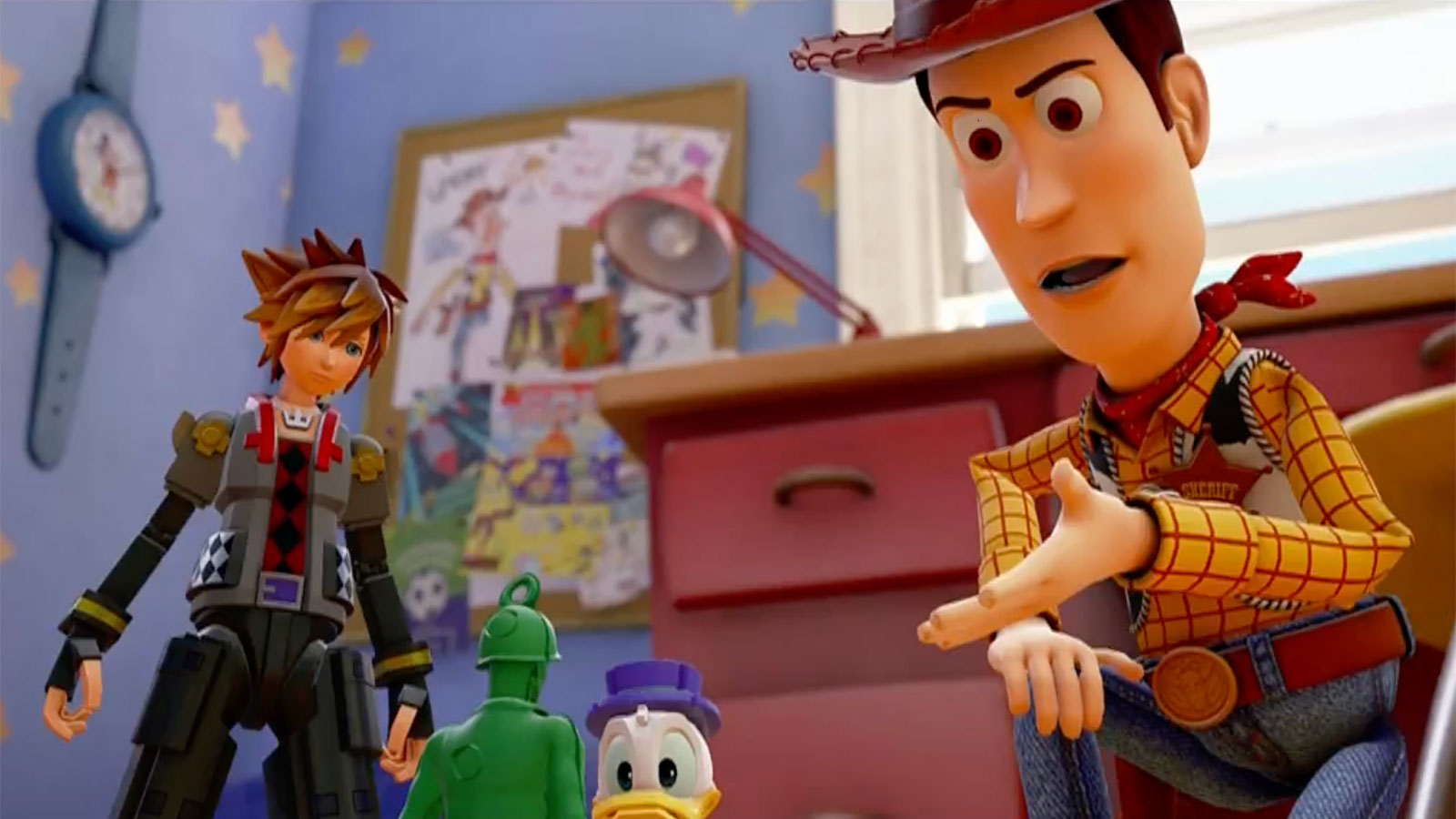 The World Of Toy Story Is Coming To Kingdom Hearts 3