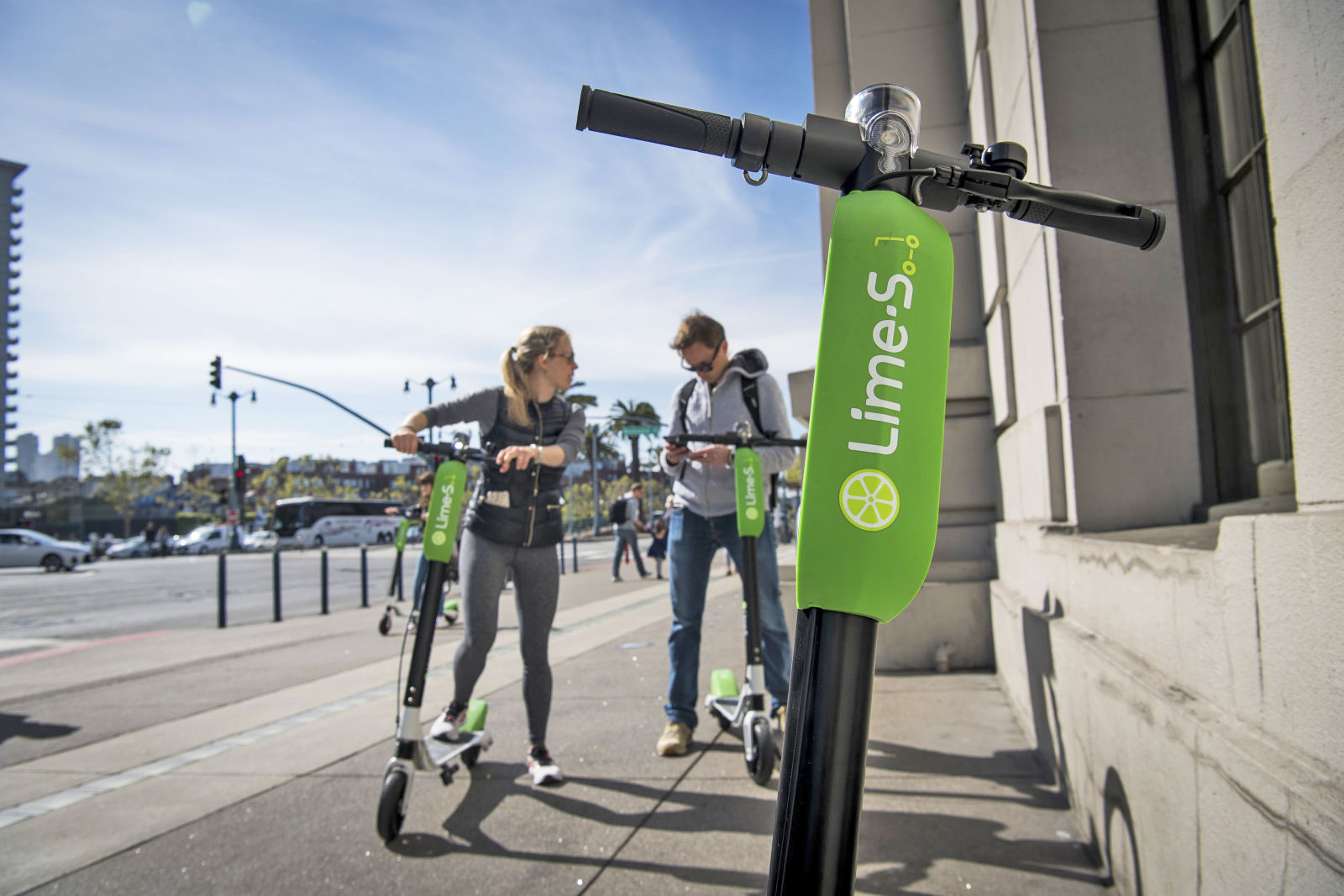 San Francisco temporarily removes electric scooters for permit process
