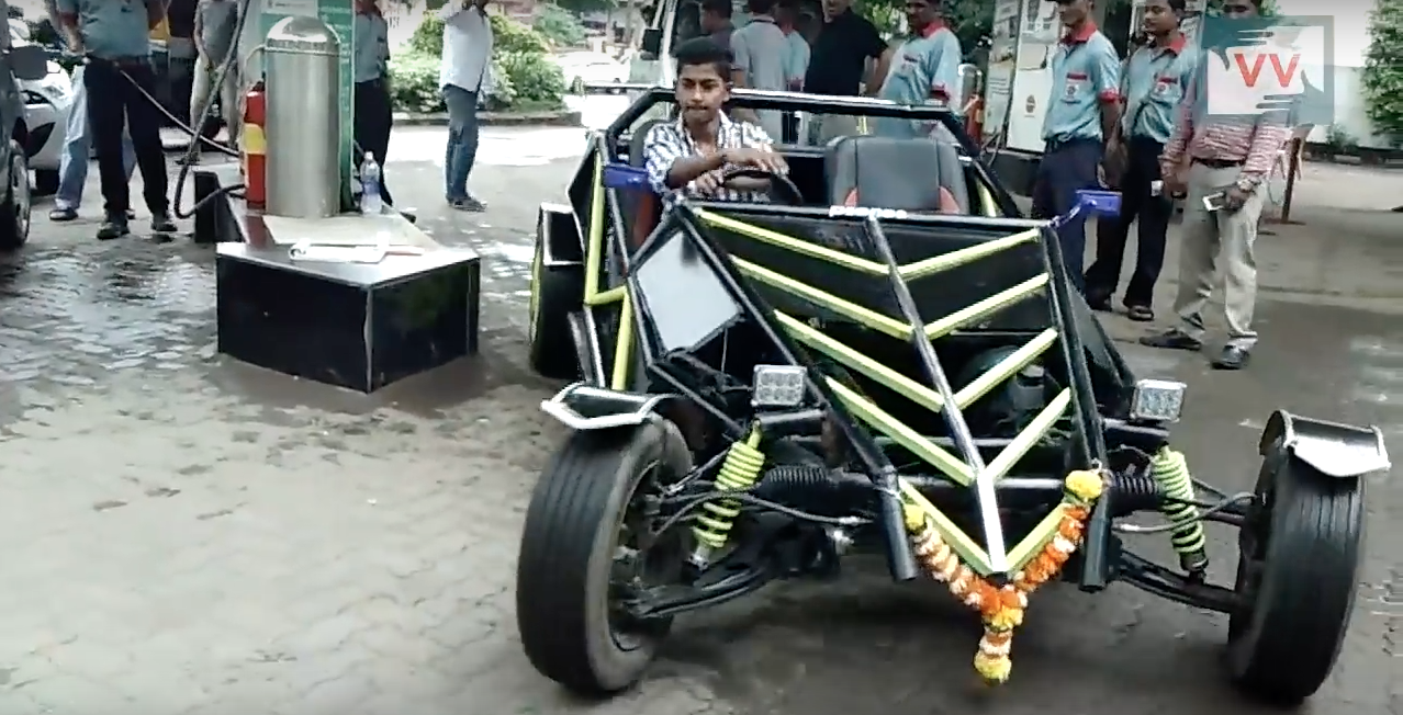 This 19-Year-Old Built His Own Car By Watching YouTube Videos