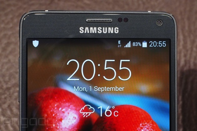 The Samsung Galaxy Note 4 looks and feels like a premium device ...