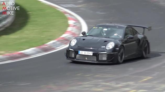 【ビデオ】新型ポルシェ「911 GT2 RS」が、ニュルブルクリンク北コースを疾走!