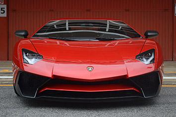 2016 Lamborghini Aventador LP 750-4 Superveloce