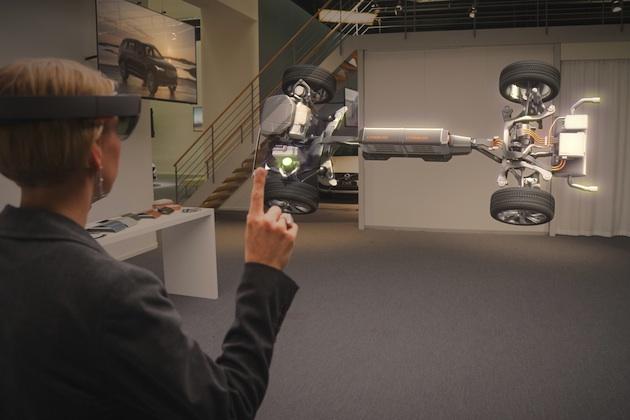 【ビデオ】ボルボとマイクロソフト、次世代自動車テクノロジーを共同開発