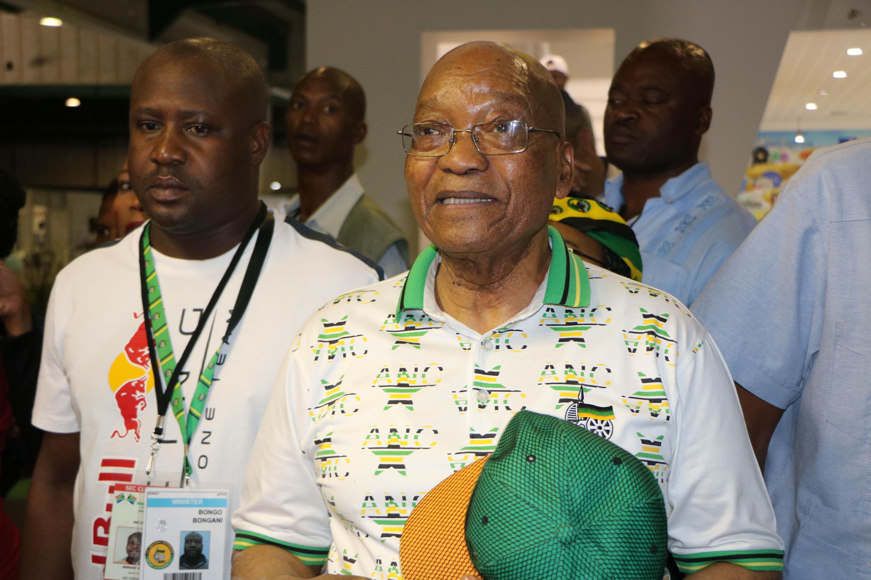 'I Have Made My Contribution' -- Zuma's Last Walk With