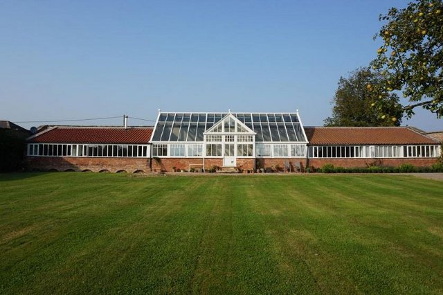 The converted greenhouse in Darlington