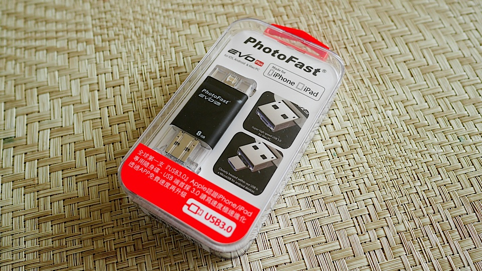PhotoFast i-FlashDrive Evo Plus 評測