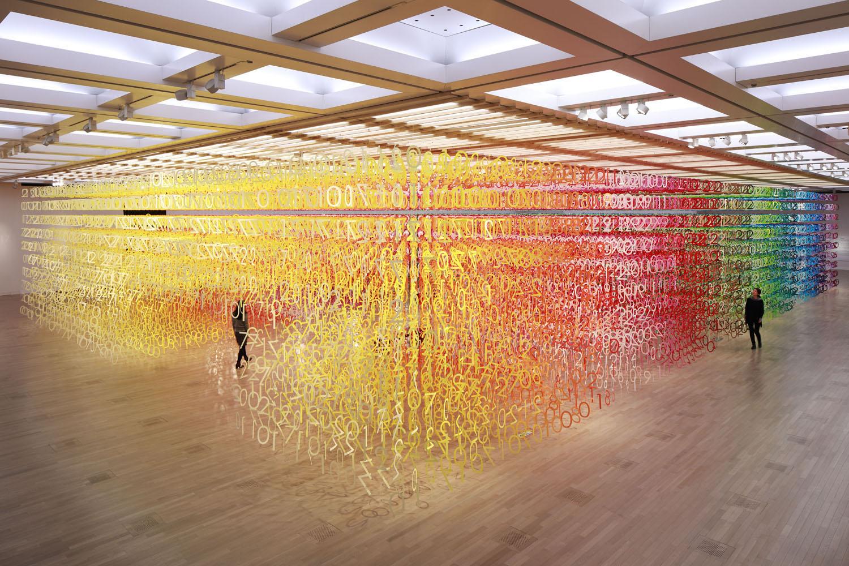Exhibition design by emmanuelle moureaux