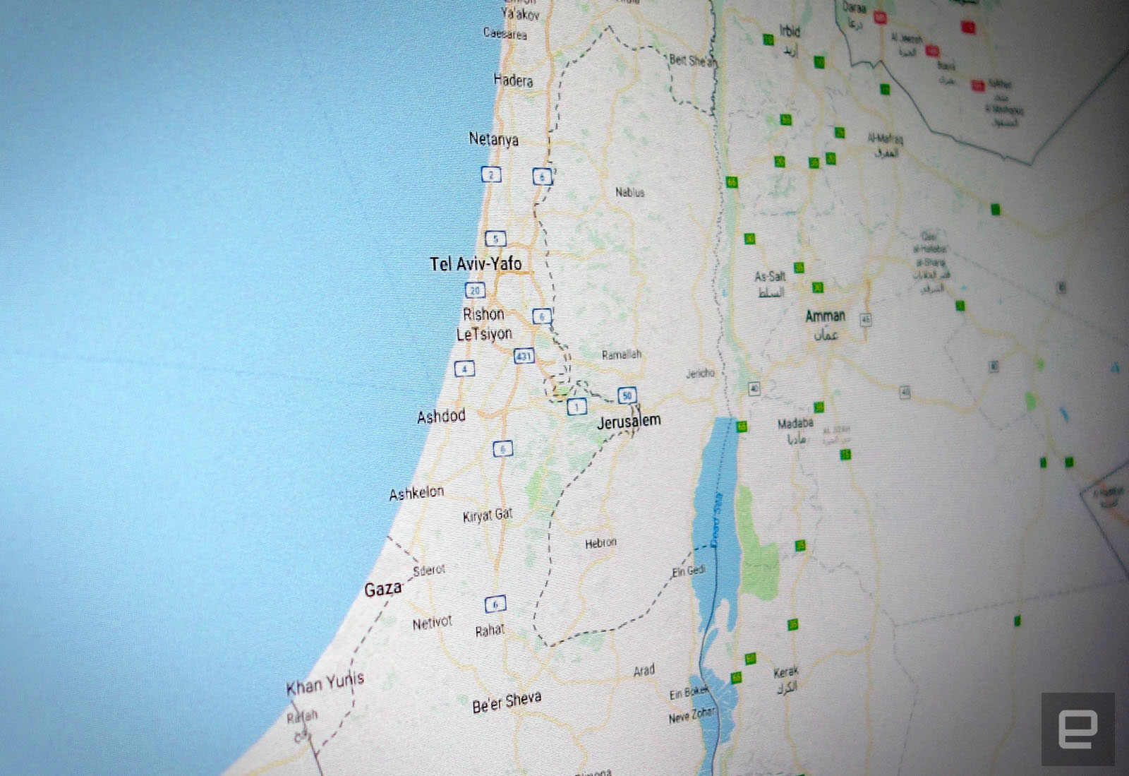 Google Explains Why Palestine Isnt Labeled In Maps - Map of palestine