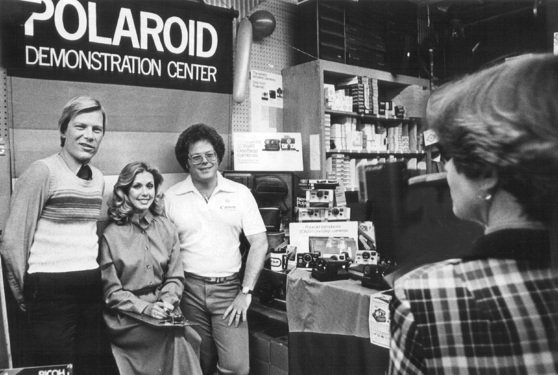 NOV 2 1978, NOV 4 1978; Miss America visits Robert Waxman Camera; In the Polaroid Demonstration Cent