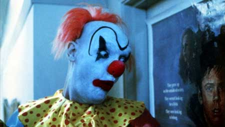 A scene from the horror film Clownhouse. Don't be distracted by the eye makeup, these guys were on a