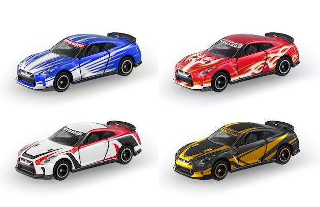 大人だって欲しくなる!? 日産とトミカがコラボ アニメ映画に登場する「GT-R」のミニカーを発表