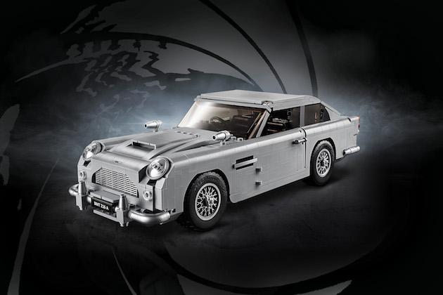 秘密兵器も満載! 映画『007 ゴールドフィンガー』に登場したアストンマーティン「DB5」のレゴが発売!
