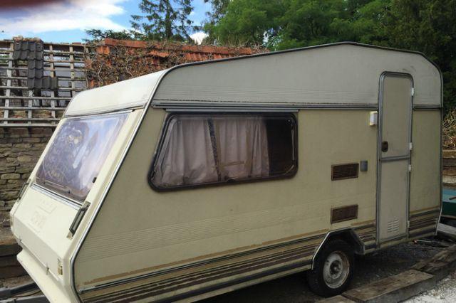 Hideous caravan advertised on eBay