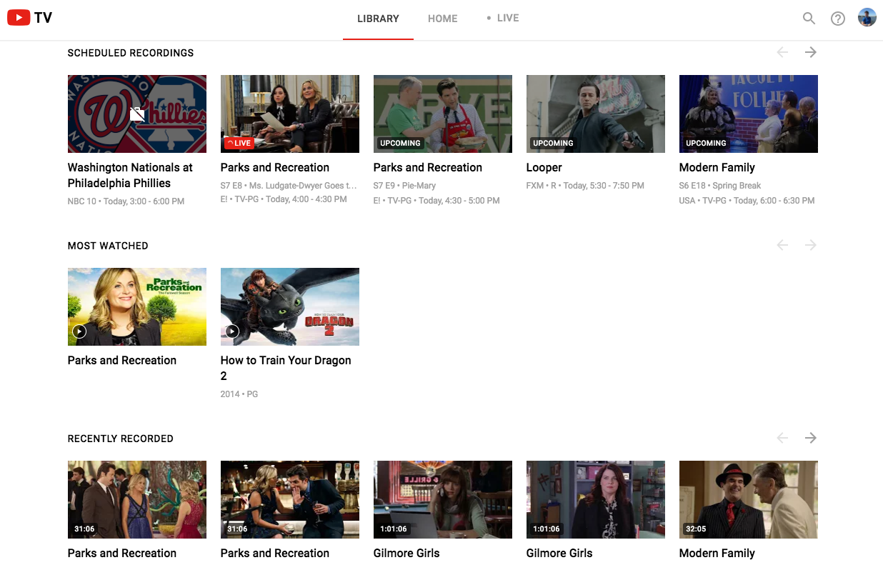 YouTube TV needs more channels, but it gets the basics right