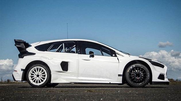 ケン・ブロック、フォード「フォーカス RS」の新型ラリークロス用マシンをチラ見せ!