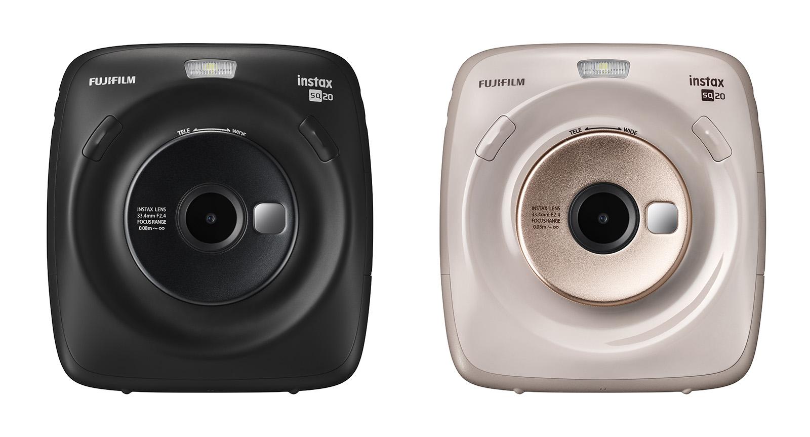 Fujifilm's Instax Square SQ20 uses video to improve instant photos