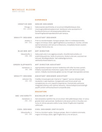 these clean modern designs can work as resume templates for most jobs from creative positions to corporate ones