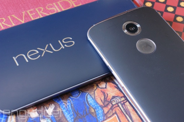 Nexus 6 and Moto X on their backs
