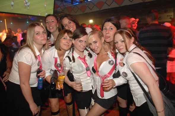 Blackpool clamping down on revealing hen and stag do costumes