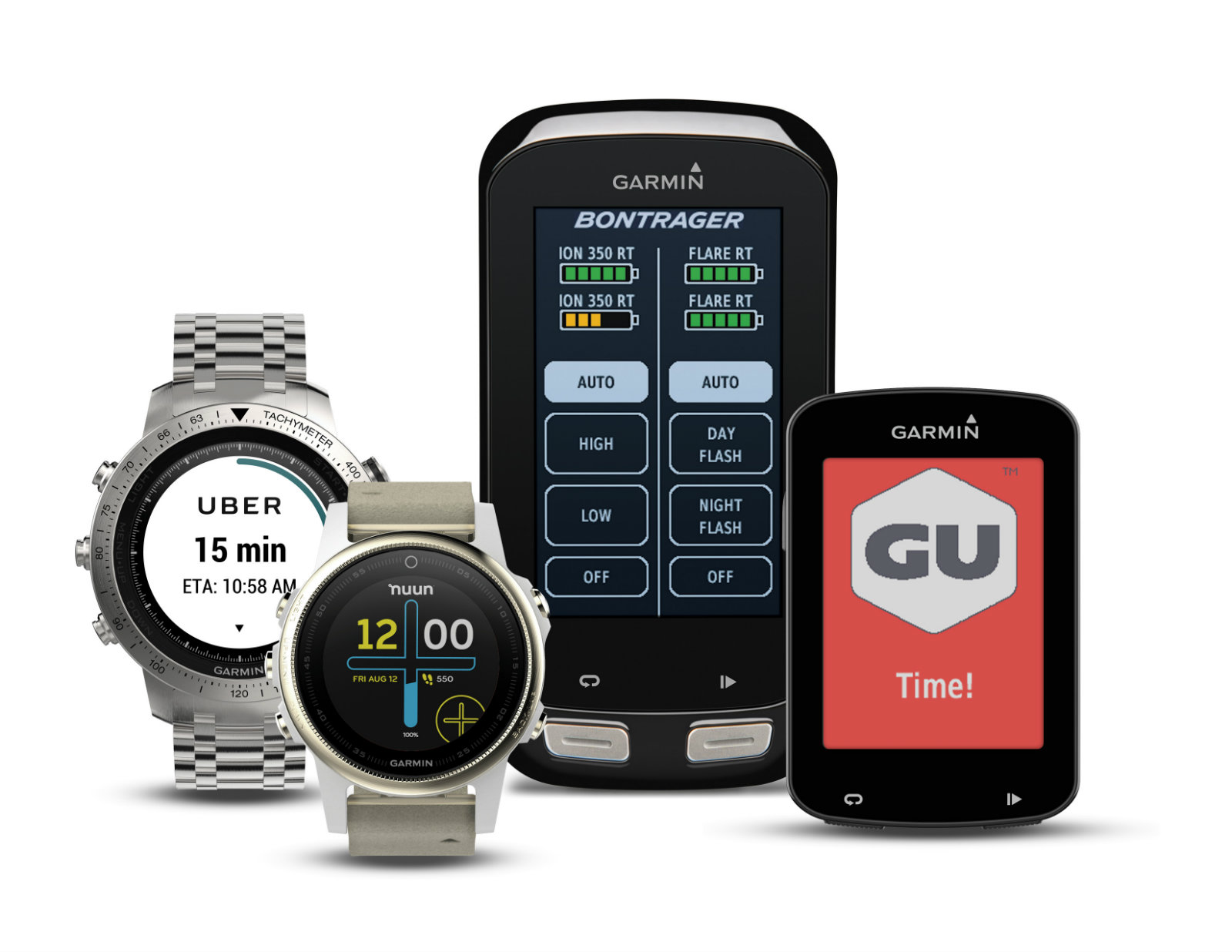 Garmin's watch-app store finally gets Uber and a few other