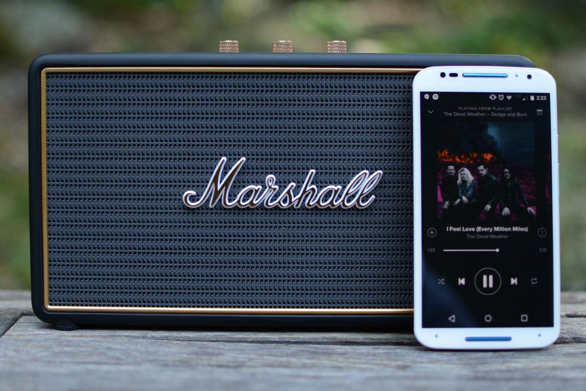 Marshall's Stockwell speaker is a guitar geek's dream