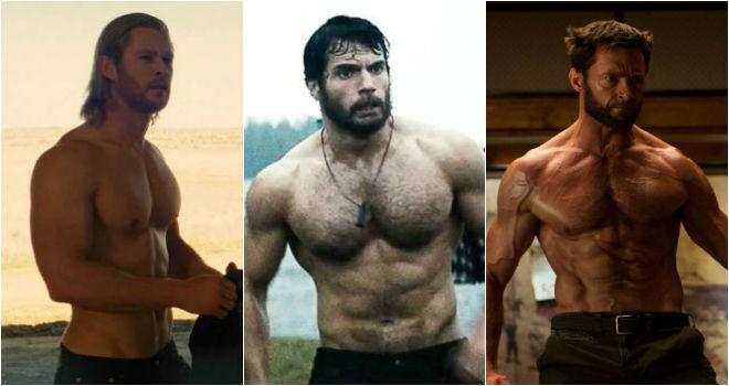 buff superhero bodies