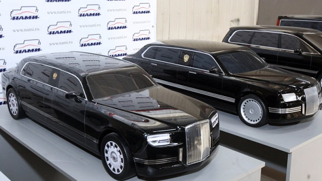 ロシアのプーチン大統領が乗る新型リムジンが発表