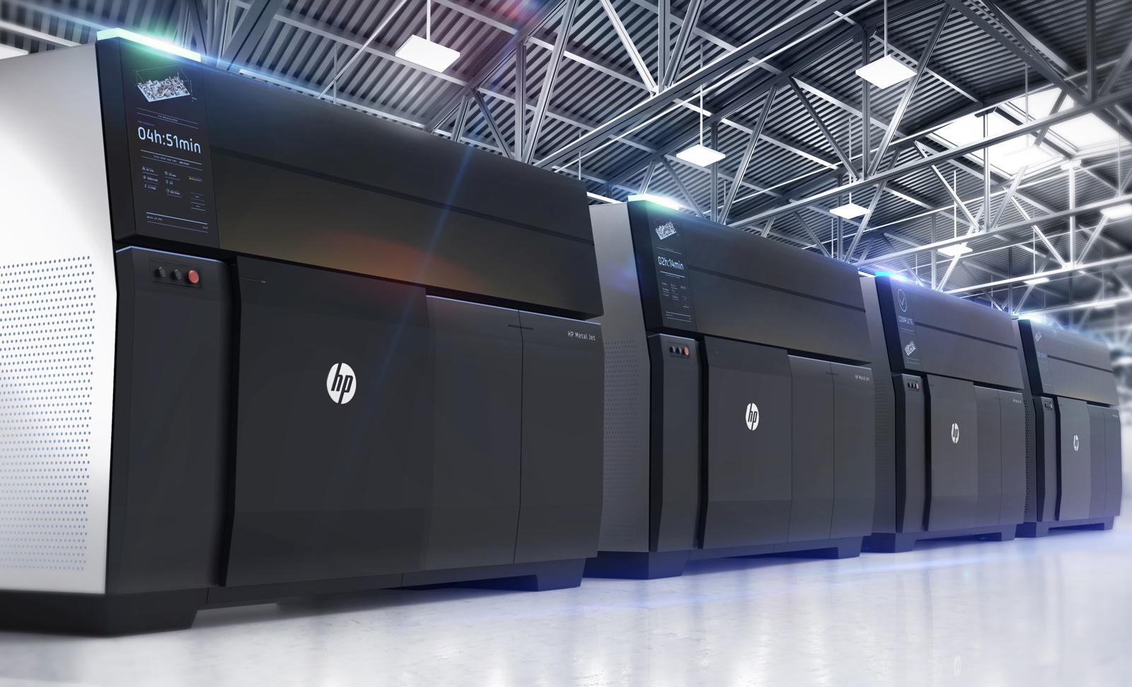 HP's Metal Jet could...