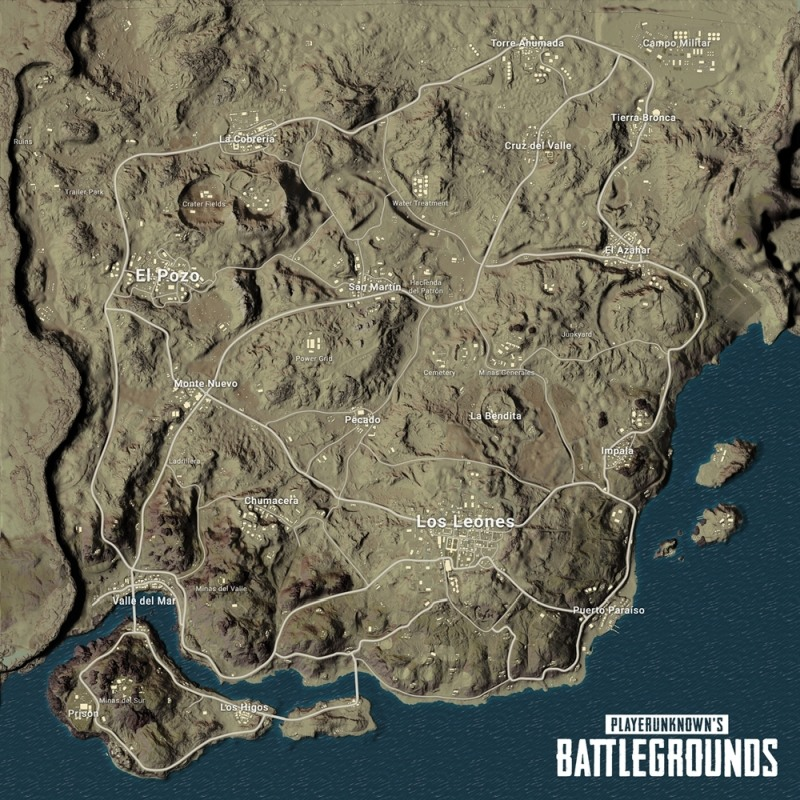 Miramar map