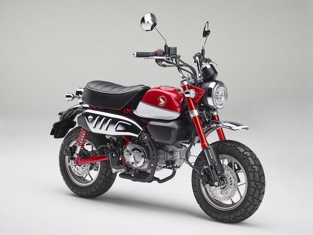 ホンダのレジャーバイク「モンキー」が125ccになって復活!