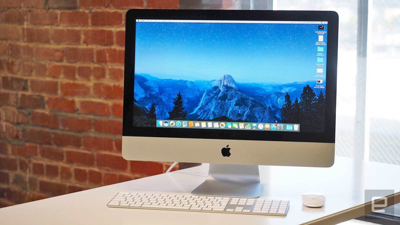 A day with Apple's new iMac (no, not the Pro) | Engadget