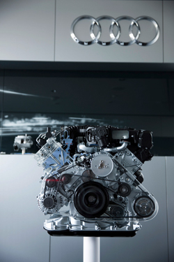Audi Electric Turbo Engine