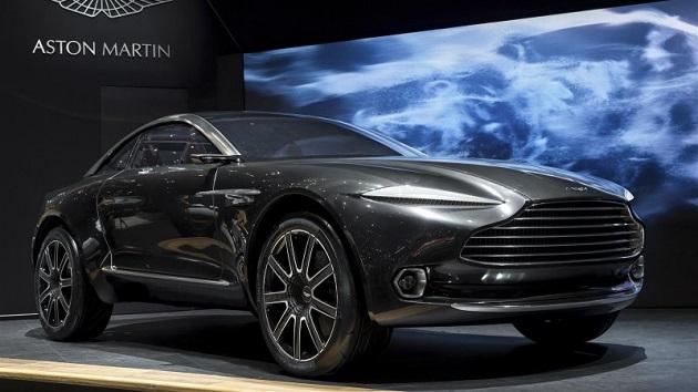 アストンマーティン、新型SUVの生産を2019年後半に開始すると発表