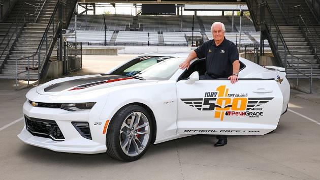 ロジャー・ペンスキー氏、今年のインディ500でペースカーの「カマロSS」をドライブ!