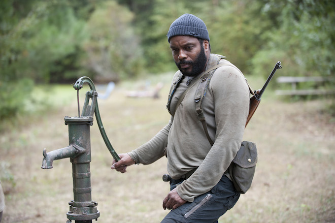 Tyreese (Chad Coleman) - The Walking Dead _ Season 4, Episode 14 - Photo Credit: Gene Page/AMC