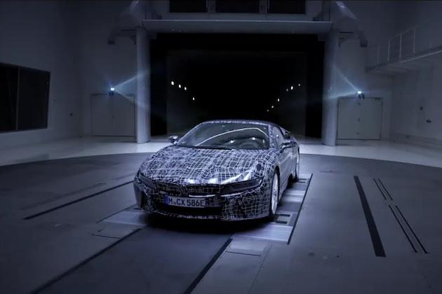 【ビデオ】BMWが「i8 ロードスター」のティーザー映像を公開 発売は2018年!?