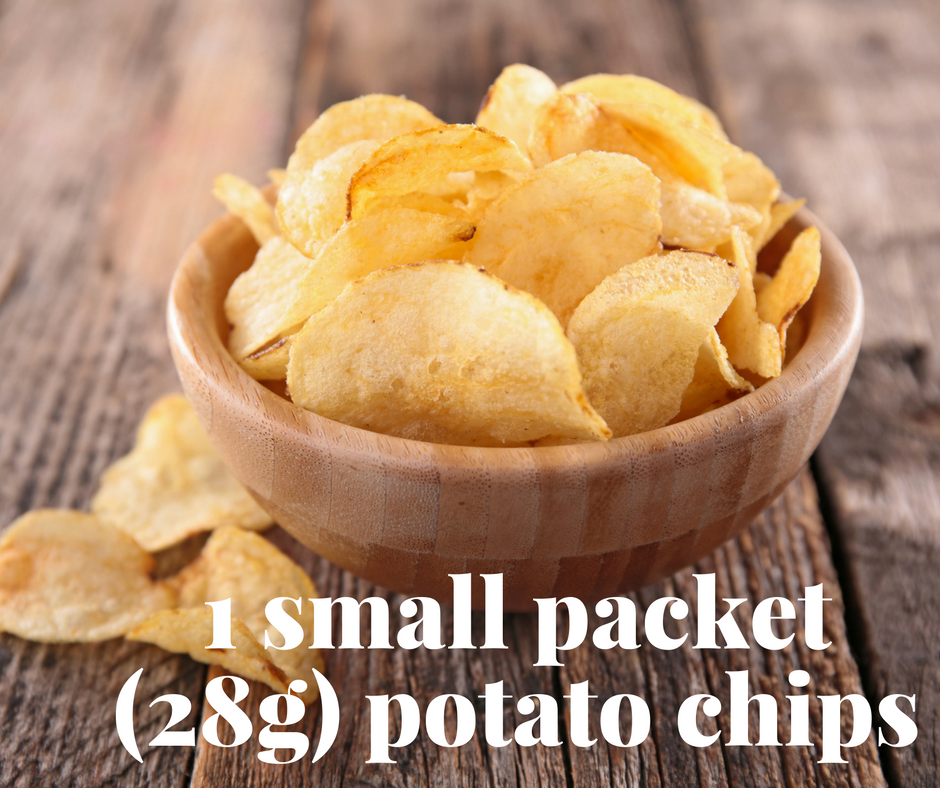 This Is What A 'Snack' Serve Of 15 Junk Foods Looks