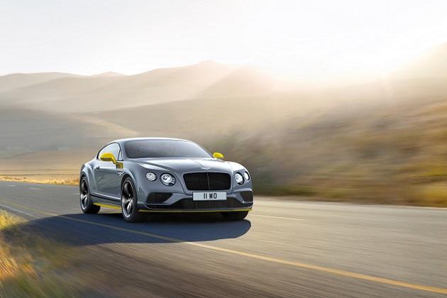 ベントレー、パワーアップした新型「コンチネンタルGTスピード」を発表! 「ブラックエディション」を新たに設定