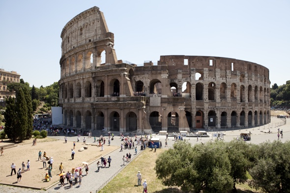 Tourist fined £16k for carving initial on Rome's Colosseum