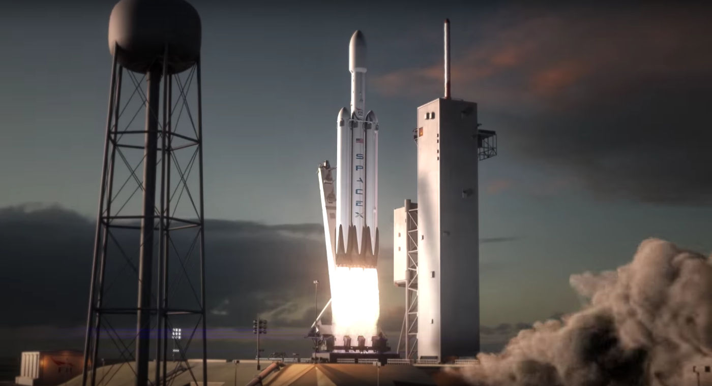 SpaceX 最快在三个月内送 Falcon Heavy 升空