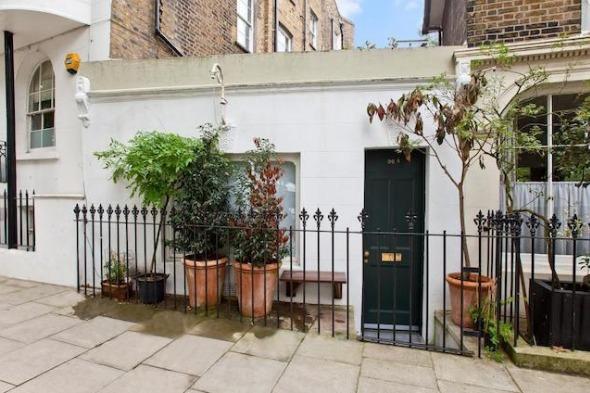 Tiny London house